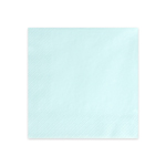 Ruokaservetti, Light Sky Blue, 20 kpl