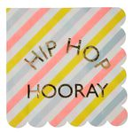 Happy Bunny - Hip Hop Hooray, servetit, 16 kpl