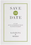 Framed Devotion, save the date -kortti