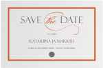 Style, Save the date -kortti