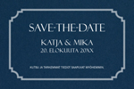 Navy Moment, save the date -kortti