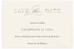 Delicate, save the date -kortti