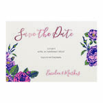 Rosy Feeling save the date -kortti