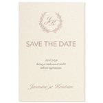 Lovely Laurel, Save the date-kortti